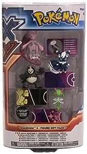 Pokemon X & Y Juguetes, Figuras de acción, Playsets y felpa de Pokemon X & Y Tomy Base Figura 4-Pack Charizard, Sylveon, Espeon y Pancham - Figura Pokemon X&Y pack 4 figuras