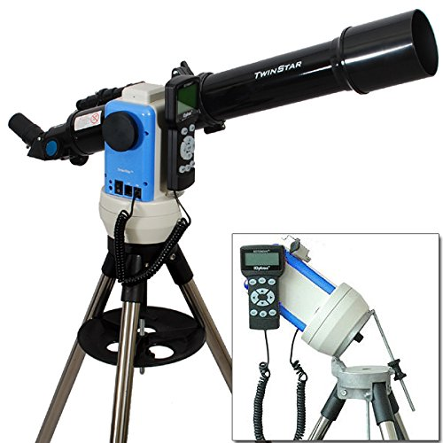 Black 3'' GPS Computer Controlled Reflector Telescope with 3MP Digital USB Camera
