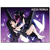 Accel World Black Lotus & Kuroyukihime Wall Scroll [LONG]