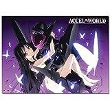 ACCEL WORLD BLACK LOTUS & KUROYUKIHIME WALLSCROLL
