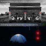 LOMEREY Pack of 2 Solar Powered Deer Chaser Light
