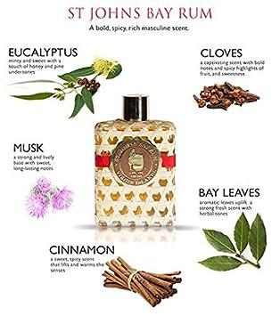 St Johns Bay Rum Cologne Aftershave Lotion 8 Oz Splash VIP Sized. The Best Smelling Fragrance for Men. Handcrafted. Bay Leaf Oils, Premium Spices in U.S.V.I. Popular Fragrance for Guys for 70 Years.