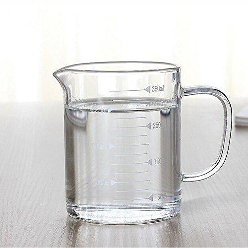 분출구가있는 붕규산 유리 측정 컵/Borosilicate Glass Measuri..