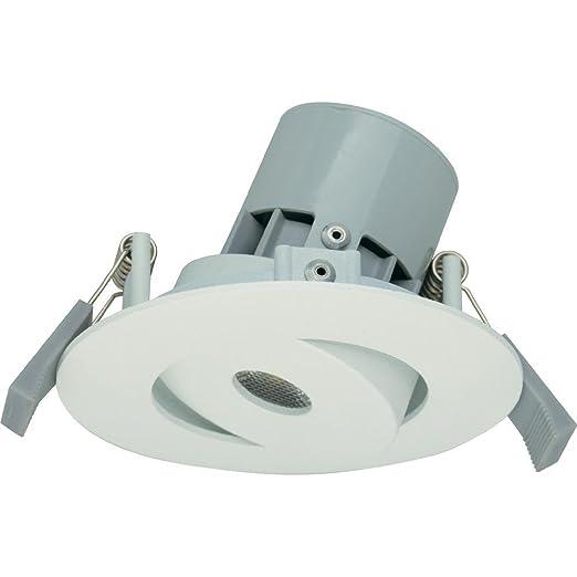 jedi Lighting 1412610 Integra S50 - Foco led (345 lm, acabado de aluminio blanco