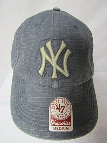 - 47 Twins New York Yankees Size Medium Yankees Smoke Jumper MLB Franchise NY Baseball Cap Hat E1 229
