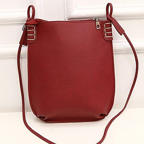 Women Lady Vintage Leather Satchel Crossbody Shoulder Bags Handbag Tote Bag New