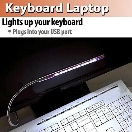 [해외]TAKSON USB 접촉 램프 빛, usb 지팡이 10LEDs 가동 가능한 가벼운 구즈넥 조정 가능한 USB 가벼운 터치 센서 usb LED 노트북 PC를위한 독서 용 빛/TAKSON USB Touch lamp lig