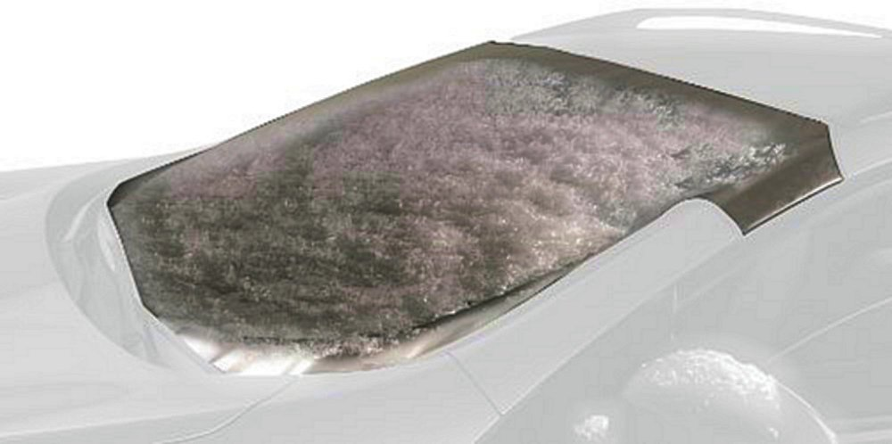 Intro-Tech TT-909-S Silver Custom Fit Windshield Snow Shade for Select Toyota Tacoma Models