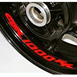 AFBA Honda CBR1000RR Inner Rim Motorcycle Sticker Decal Stripe Gloss Red