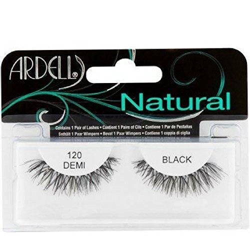 Ardell Fashion (Ardell Fashion Lashes Natural Strip Lash, Black [120] 1 ea ( Pack of 6))