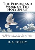img - for The Person and Work of The Holy Spirit book / textbook / text book