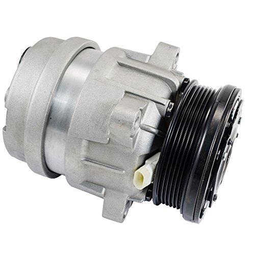 Hex Autoparts AC A/C Compressor for GMC Sonoma & Isuzu Hombre & Chevrolet S10 2.2L 1998-2003 - Sonoma Ac Compressor