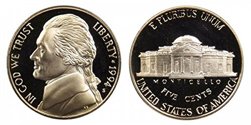 1994 S Proof Jefferson Nickel PF1