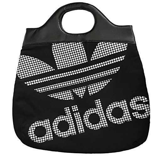 Tote Adidas Trefoil Shopper Clutch Holdall Bag Originals Beach Black wqXgHvqp4