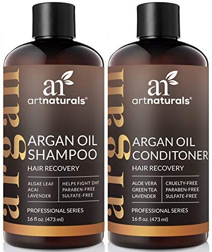 Used, ArtNaturals Moroccan Argan Oil Hair Loss Shampoo & for sale  Delivered anywhere in USA