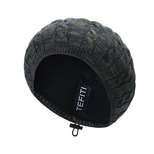 Women Hat,TEFITI Adjustable Knit Beanie Beret Women Girls Lightweight Hair Net Snood Hats ...