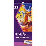 Reeves 12ml Oil Paint, Assorted Color