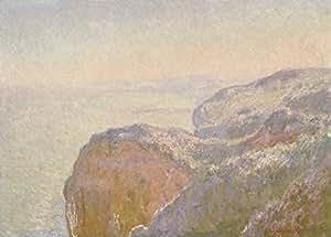 Claude MONET el Val Saint-Nicolas, cerca de, aproximadamente Dieppe matin 1897 de papel formato A3, 250 g, diseño de carteles de reproducción.