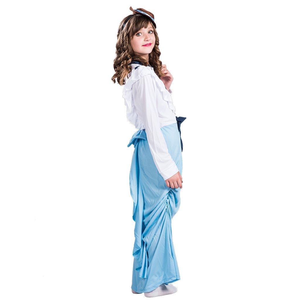 EraSpooky Niño Posh Victoriana niñas Mary Poppins Traje ...