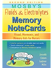 Mosby's Fluids and Electrolytes Memory NoteCards: Visual, Mnemonic, and Memory Aids for Nurses