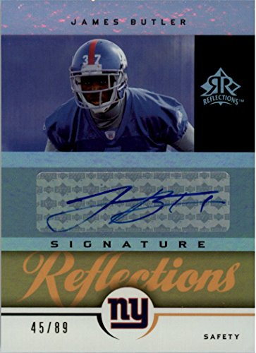 - 2005 Reflections Signature Reflections Gold #SRJB James Butler AUTO 45/89 - NM