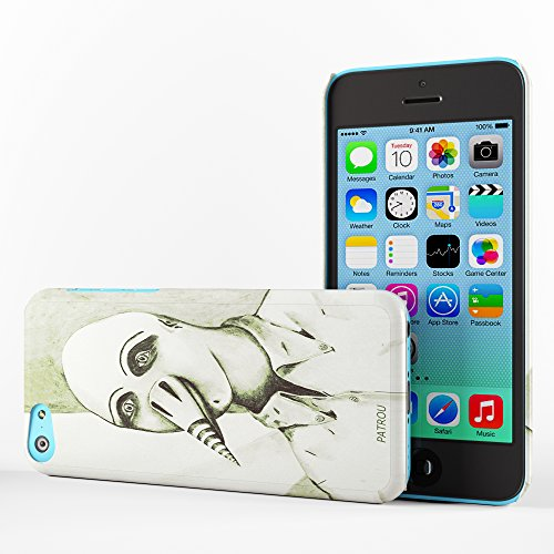 Koveru Back Cover Case for Apple iPhone 5C - Head Snowboard