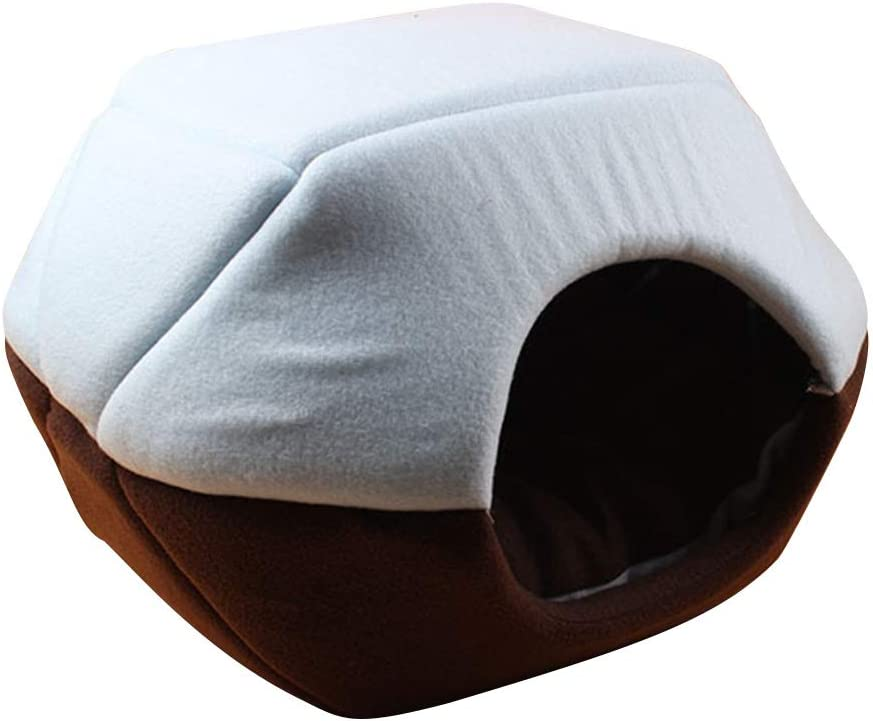 Cozy Pet Dog Cat Cave,Gentlecarin Soft Pet House Sofa,Warm Puppy Kennel Removable Cushion Cats Small Dogs