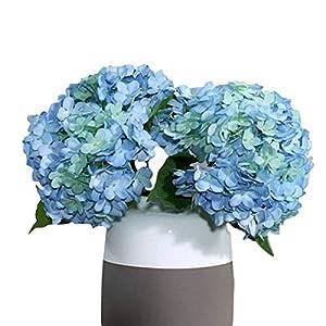 3 PCS Artificial Silk Hydrangea Flower Bouquets Home Garden Party Wedding Decor Design 110