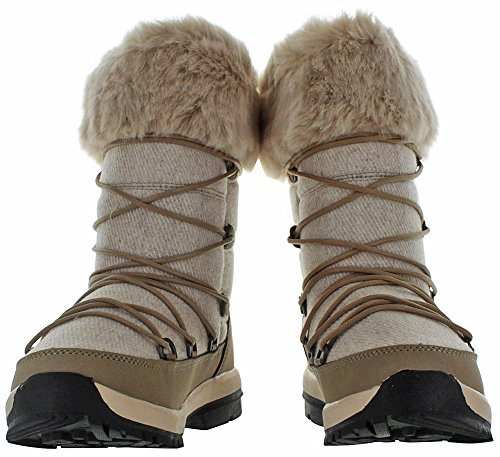 Women's Boot Leslie M 11 US Snow Taupe BEARPAW Fqdc1yF