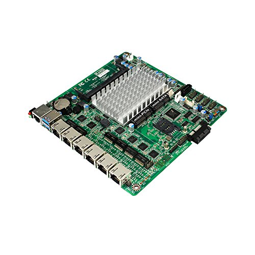 (Jetway NF692G6-420 Intel Apollo Lake Pentium N4200 Thin Mini-ITX Motherboard w/6x GbE LAN)