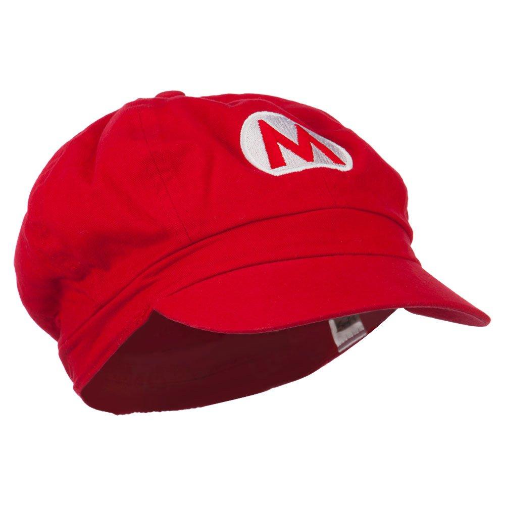 e4Hats.com Big Size Circle Mario and Luigi Embroidered Cotton Newsboy Cap
