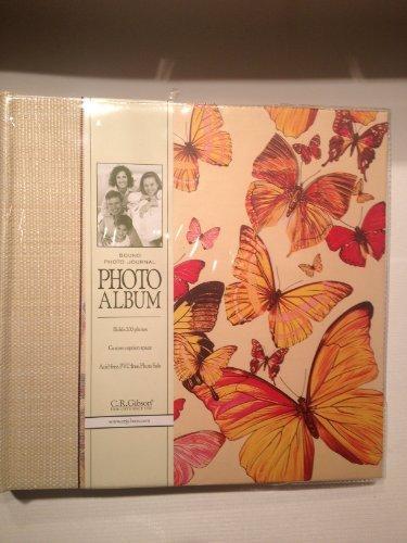 C.R. Gibson Bound Photo Journal Album Butterflies