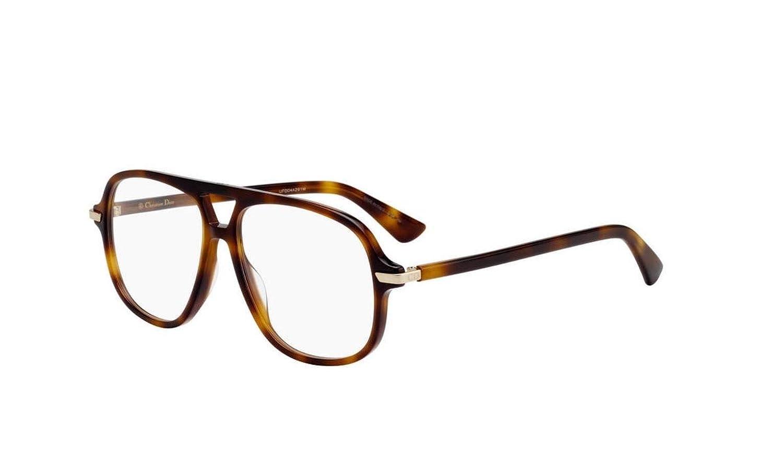 Authentic Christian Dior Essence 16 0086 Dark Havana Eyeglasses