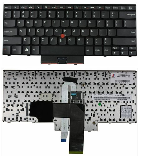 US Layout Laptop Keyboard with Trackpoint For Lenovo ThinkPad E420 E320 E325 E420s E425 Series Laptops Compatible with part number 63Y0213 04W0800 0A62003