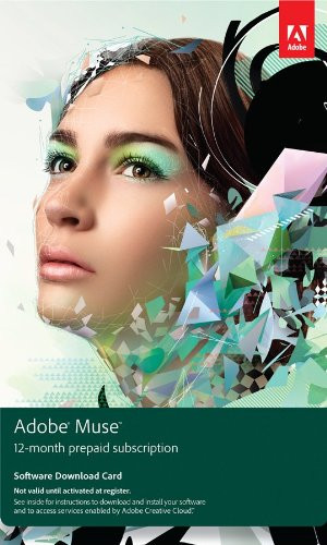 adobe muse software - 3