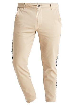 f1ab82319 Pier One - Pantalon - Chino - Homme - Beige - W33: Amazon.fr ...