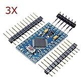 3Pcs ATMEGA328 328p 5V 16MHz Arduino Compatible Nano Size Module Board - Arduino Compatible SCM & DIY Kits - Module Board