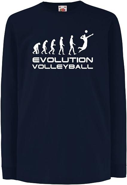 lepni.me Camiseta para Niño/Niña La Historia y la evolución ...