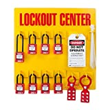 ZING 7114 RecycLockout Lockout Station, 8 Padlock, Stocked