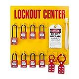 ZING 7114 RecycLockout Lockout Station, 8 Padlock, Stocked