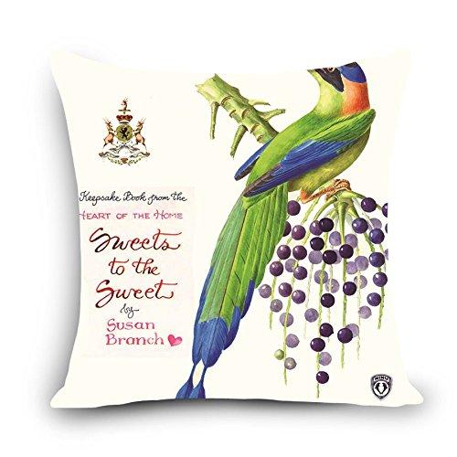 MAYUAN520 Cojines Alta Calidad De Impresión De Aves Loro ...