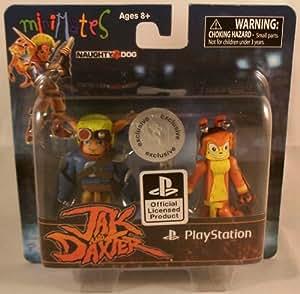Sony Minimates Exclusive Mini Figure 2Pack Jak Daxter Jak Daxter by Diamond Select