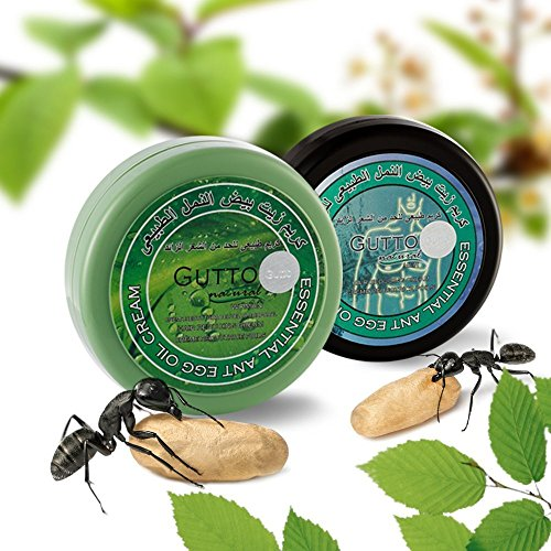 Gutto Hair Removal Cream for Men - Natural Cream for Sensitive Skin. Apply After Shaving, Epilation or Waxing - Perfect for Tough Body Hair or Facial Hair