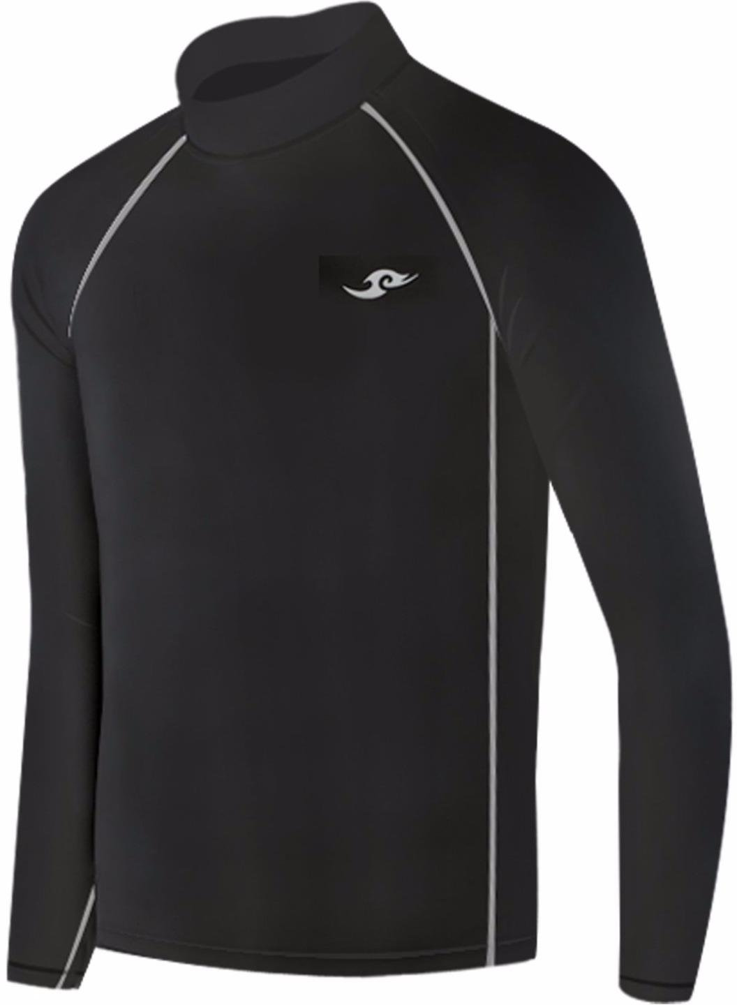 New Boys & Girls Youth 084 Black Compression Skin Tight Baselayer Shirt