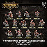 Winter Guard Infantry and Rocketeers (13) Miniatures