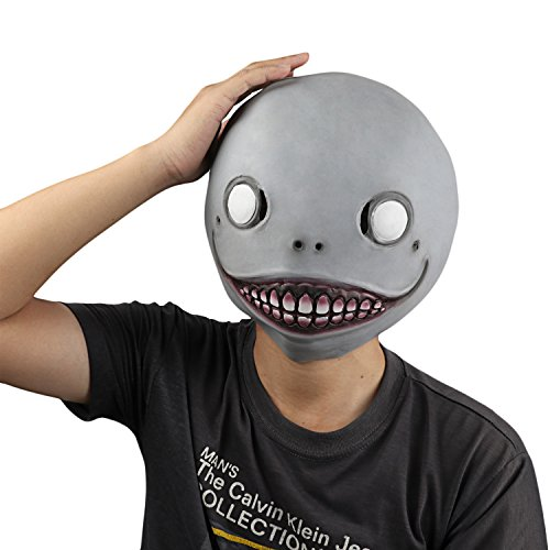 Alien Masks For Kids (Monstleo scary halloween costume decorations for Adults and kids Latex Alien Mask)