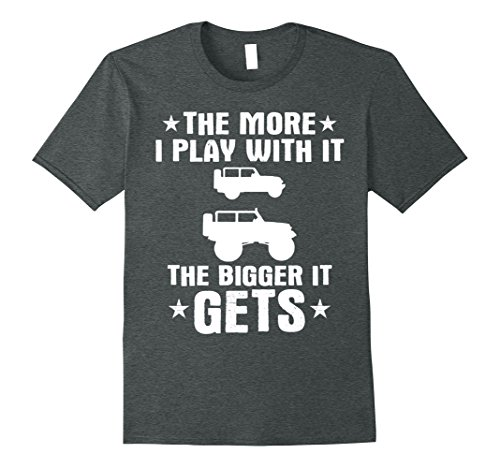 Mens Funny Off Road Driving T Shirt For Jeep 4X4 Drivers 3XL Dark Heather ()