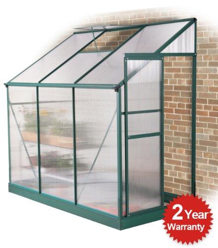 2 opinioni per Serra a muro Lacewing Premium Verde in Alluminio senza base