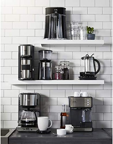 Mr. Coffee Espresso and Cappuccino Maker | Café Barista , Silver 51m5QxpDypL