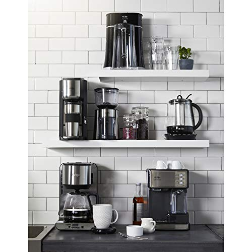 51m5QxpDypL - Mr. Coffee Cafe Barista Espresso and Cappuccino Maker, Silver